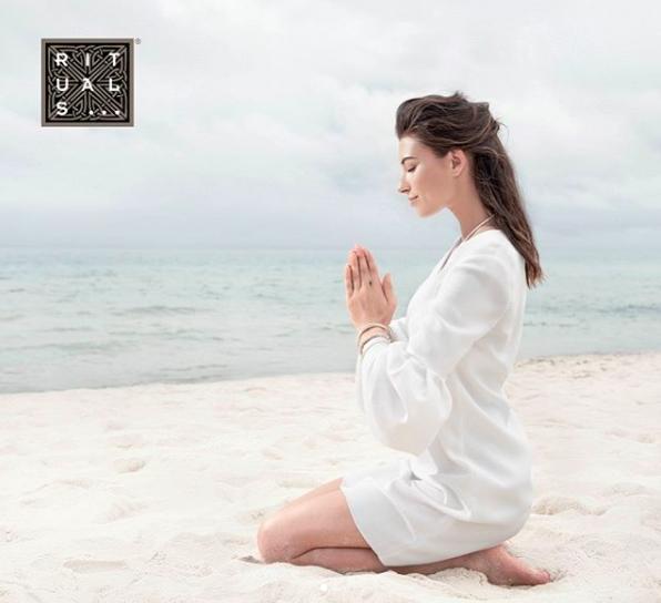 Albina Kireeva for Rituals Cosmetics Campaign