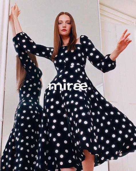 Kristina Vovk for Mirae Paris