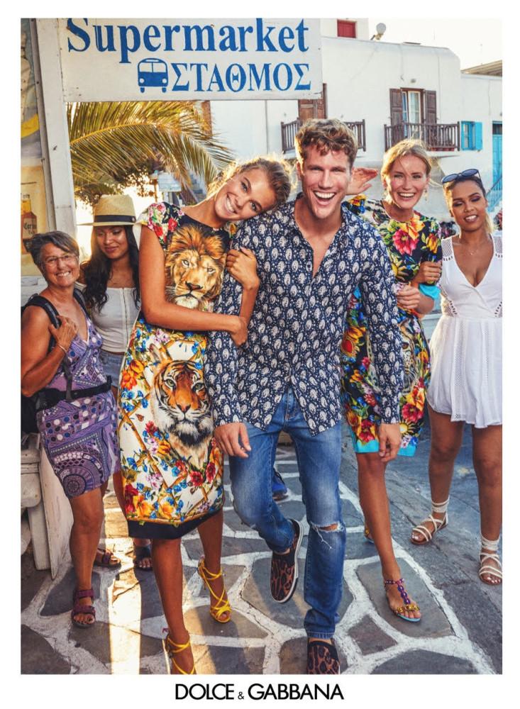 Anna Zotova for Dolce & Gabbana Campaign