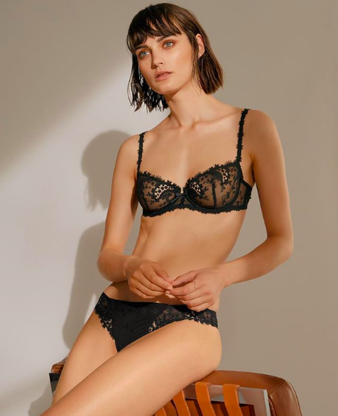 Sibui Nazarenko for Zalando lingerie campaign
