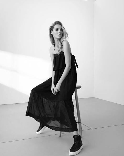 Denisa Dvorakova for Pietro Filipi SS18