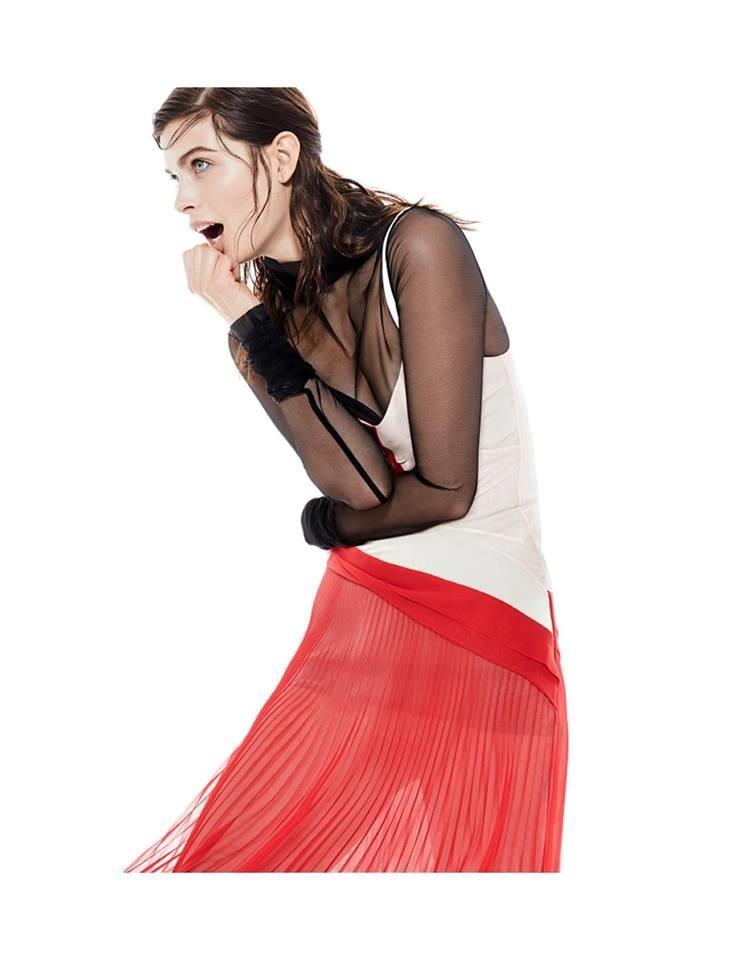 Pamela Bernier for ELLE Magazine