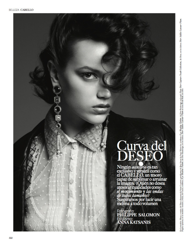 Jenna Earle for Vogue Mexico Beauty