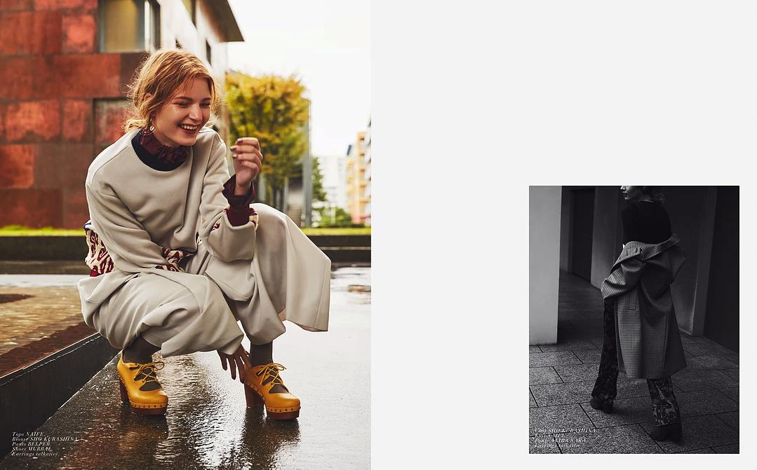 Lutza Horvath for Kult Bult Magazine