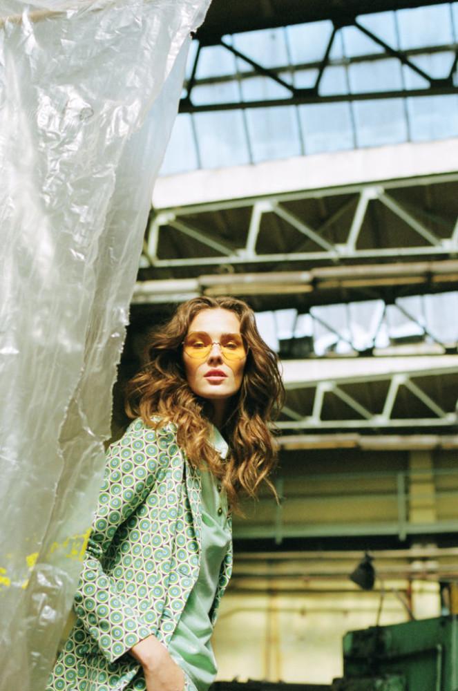 Magdalena Chachlica for Harper's BAZAAR KZ