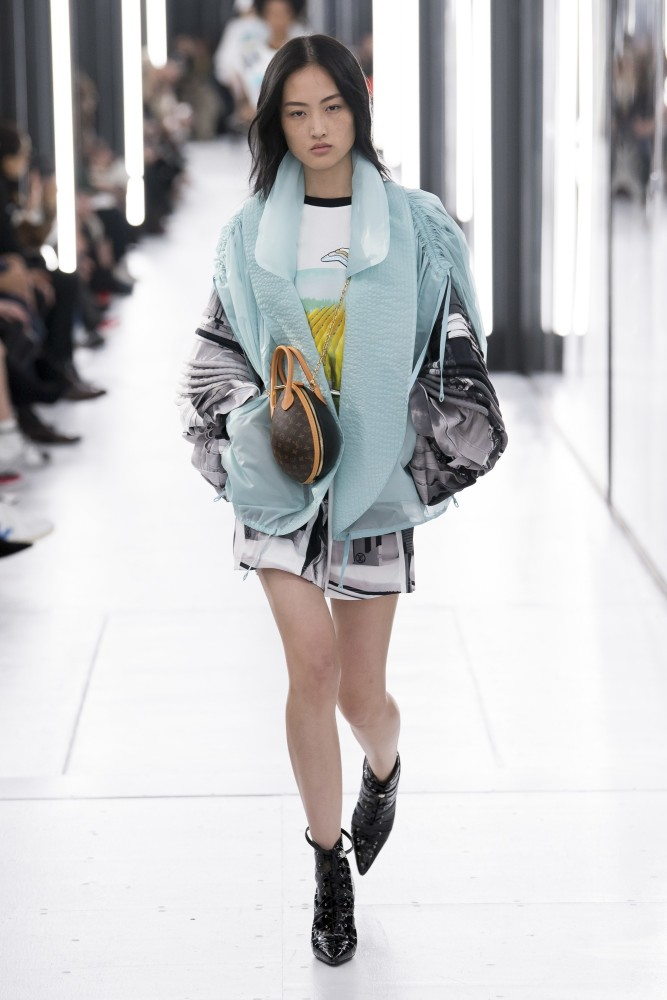 Jing Wen for Louis Vuitton SS 19 PFW