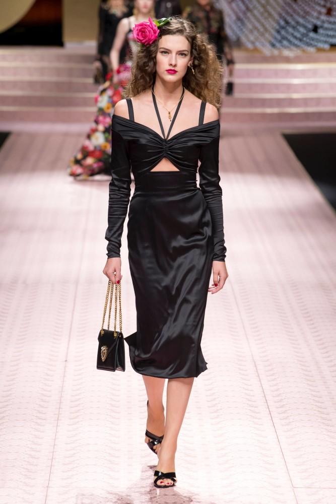 Marie Damian for Dolce & Gabbana SS19 MFW