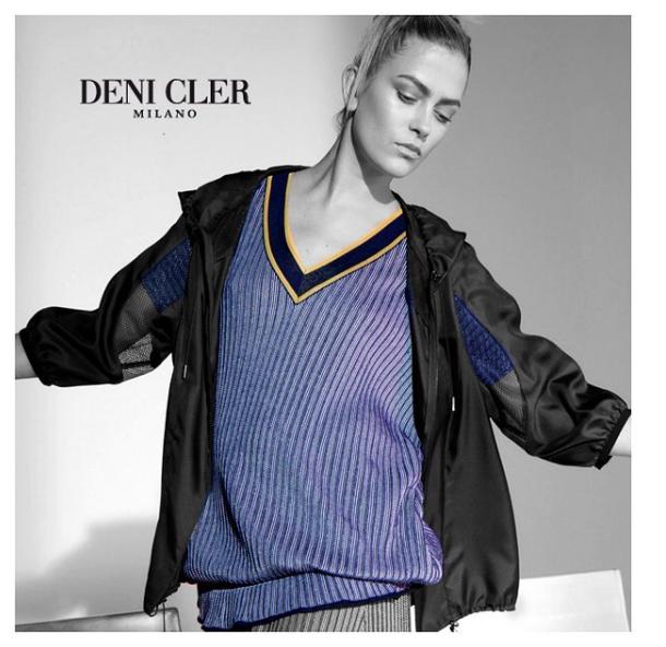Marlena Szoka for Deni Cler Milano Campaign