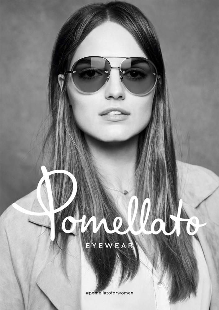 Agne Konciute for Pomellato Eyewear