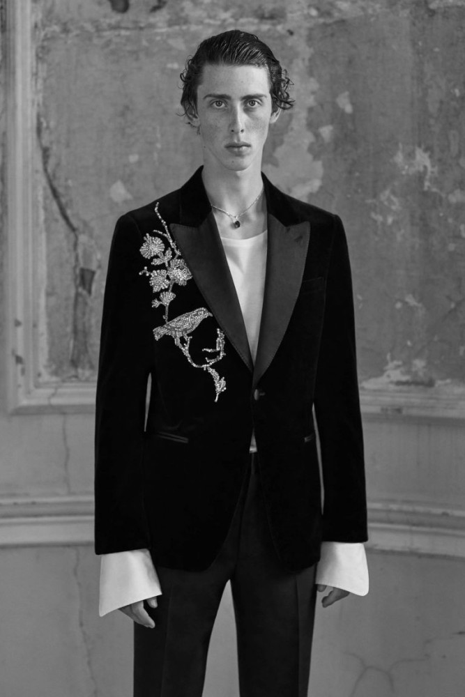 Rodrigue Durard for Alexander McQueen SS19