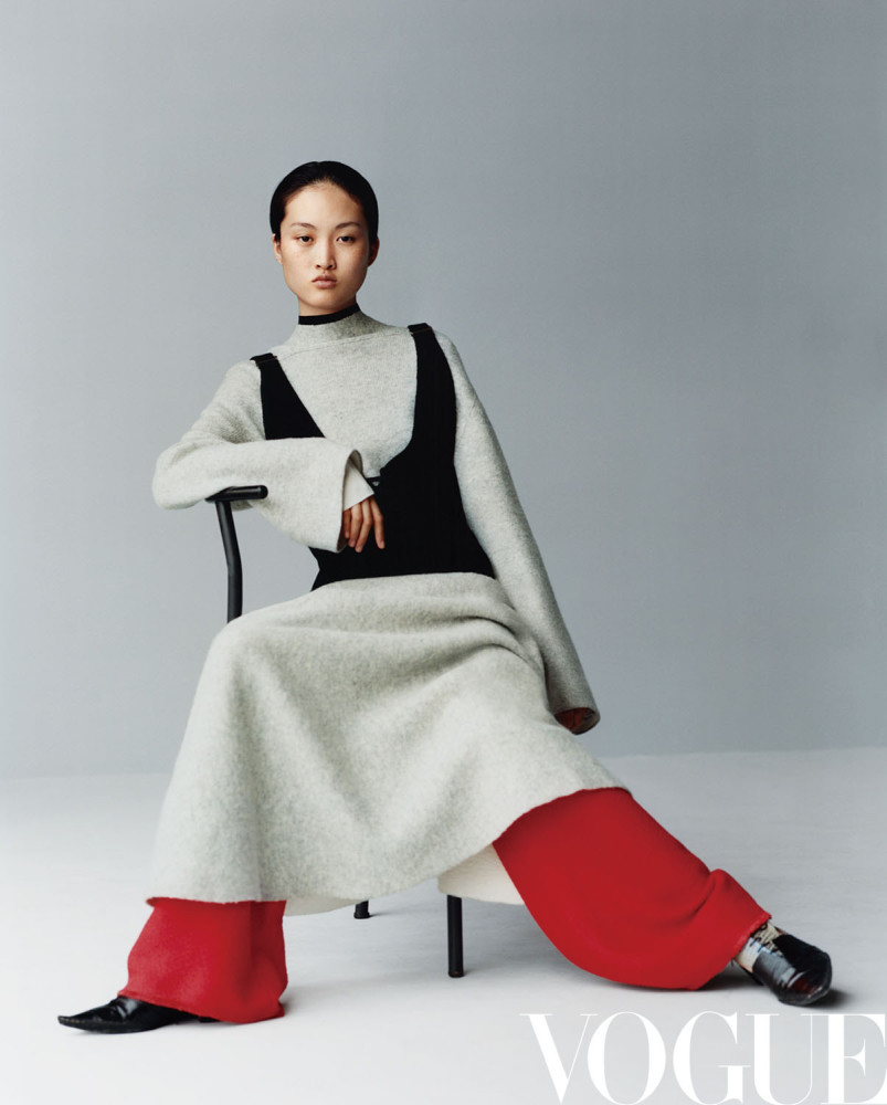Jing Wen for VOGUE China