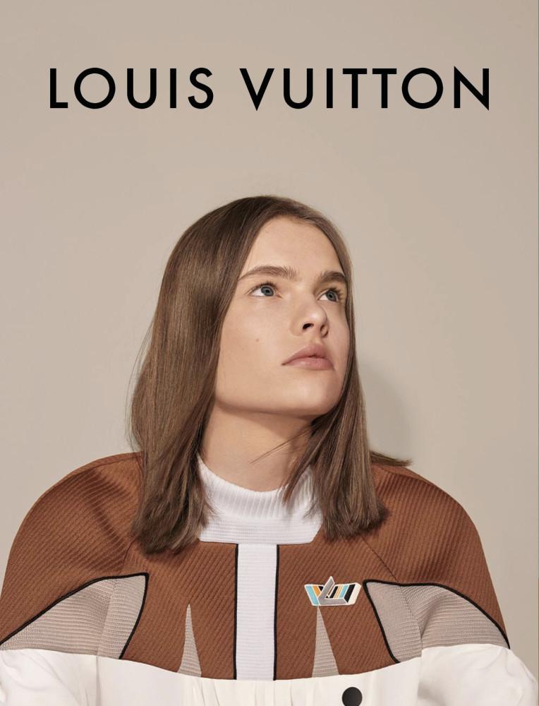 Maud Hoevelaken LOUIS VUITTON F/W 18 Campaign