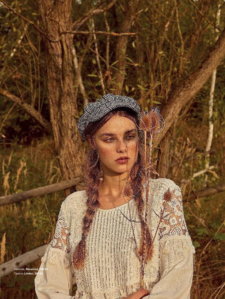 Krystyna Pyskova for Moje Magazine