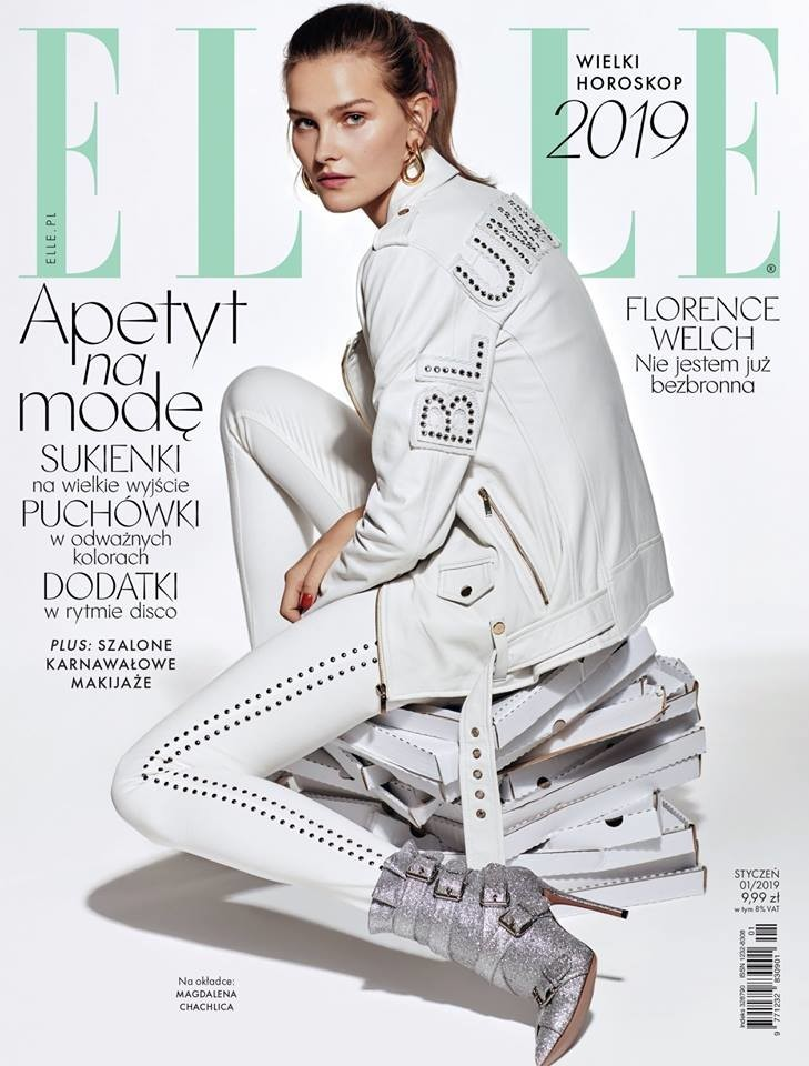 Magdalena Chachlica for ELLE Poland