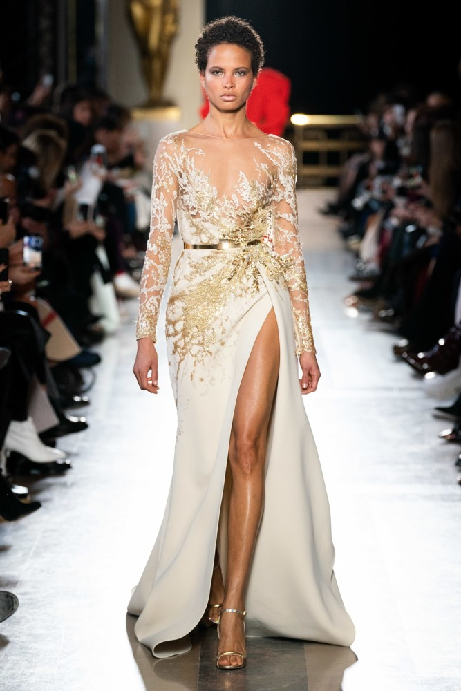 Litza for Elie Saab Couture SS19