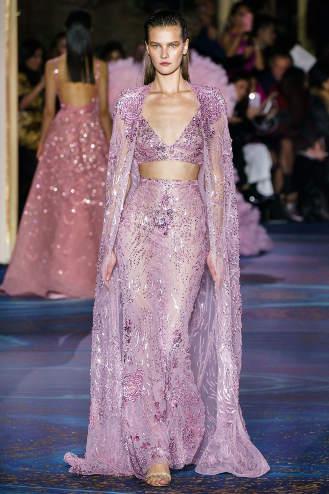 Magdalena Chachlica for Zhuhair Murad SS19 Couture