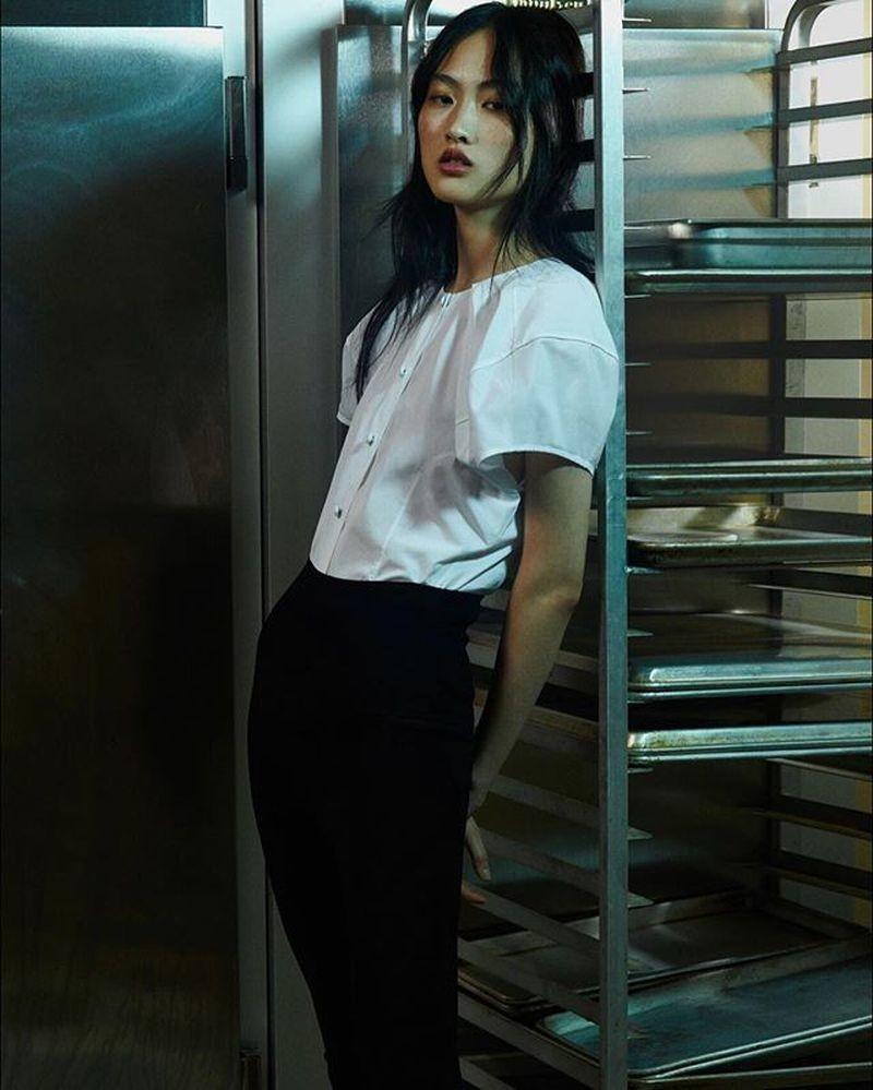 Jing Wen for KHAITE Resort 2019 Lookbook
