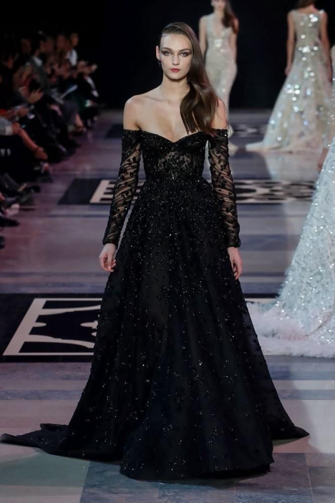 Deimante Misiunaite for Georges Hobeika SS19 Paris Haute Couture