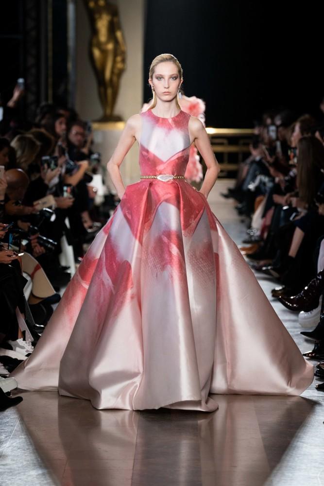 Sonia Komarova for Elie Saab SS19 Couture