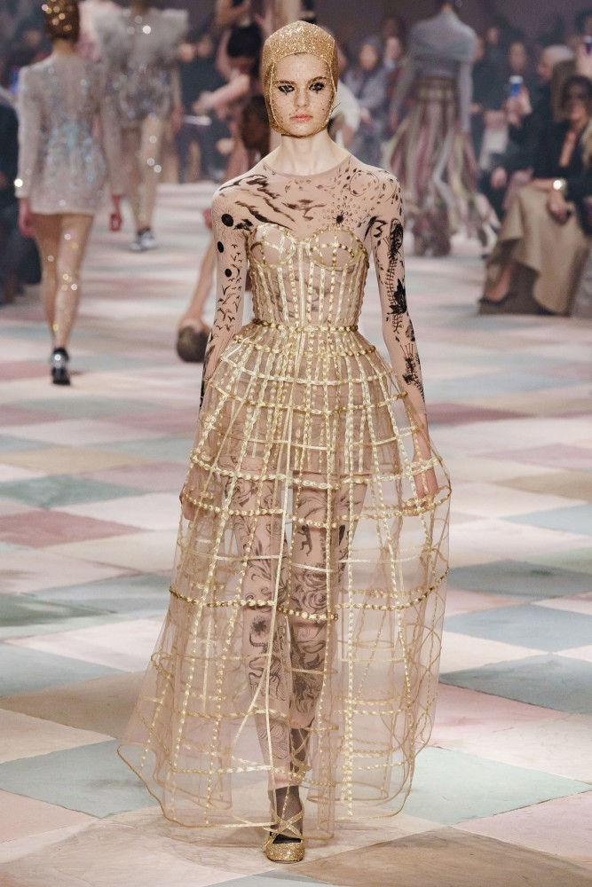 Maud Hoevelaken for Christian Dior SS19 Couture