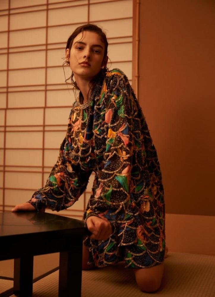 Marie Damian for Haper's Bazaar