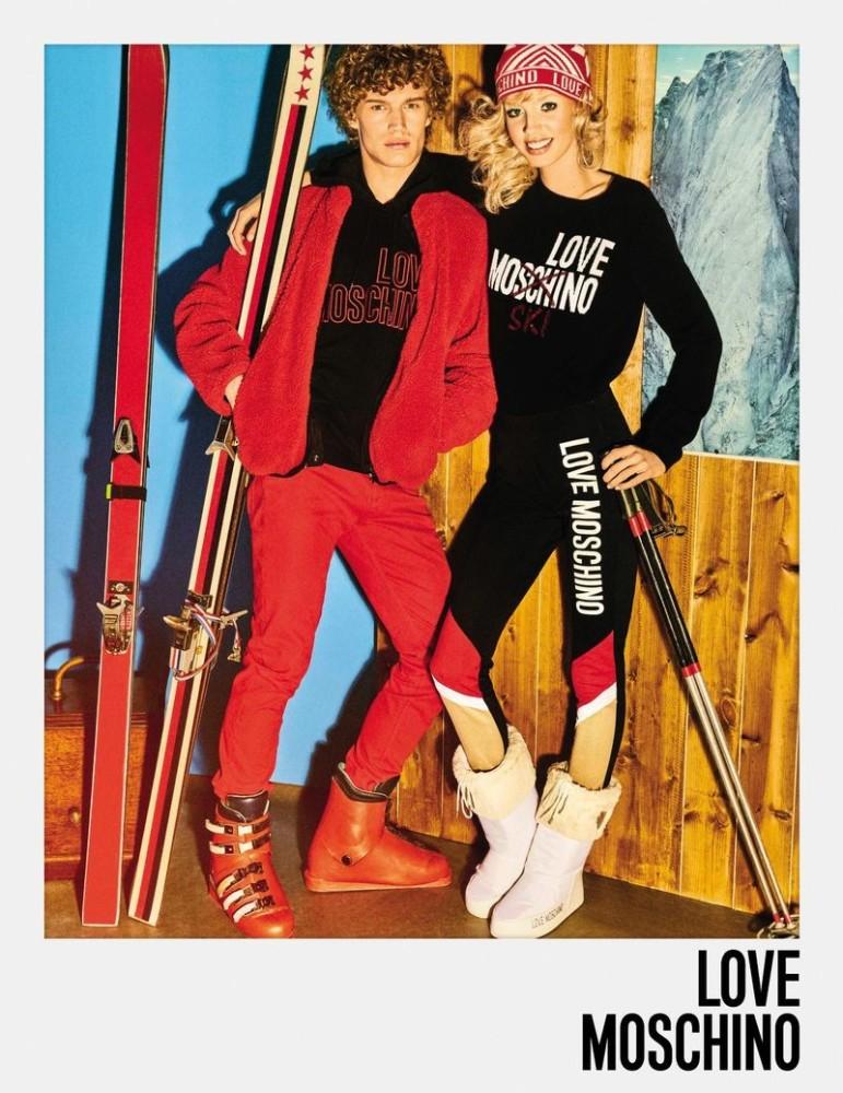 Timo Baumann for Love Moschino
