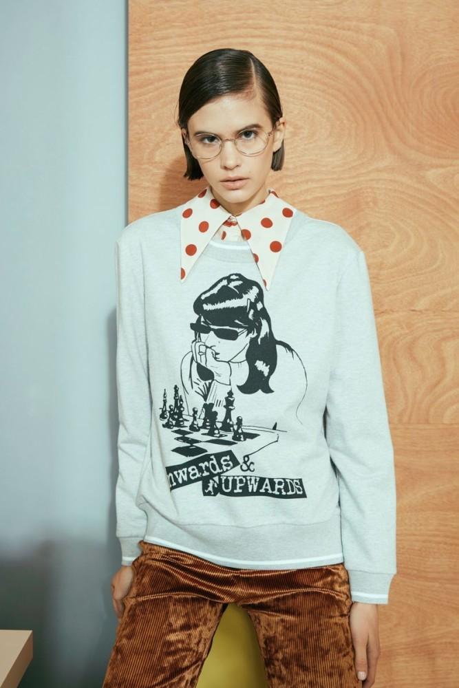 Wioletta Rudko for Karen Walker Pre-Fall 2019 Lookbook