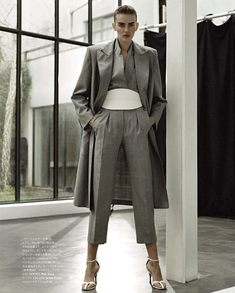 Dorota Kullova for Harper's Bazaar Japan