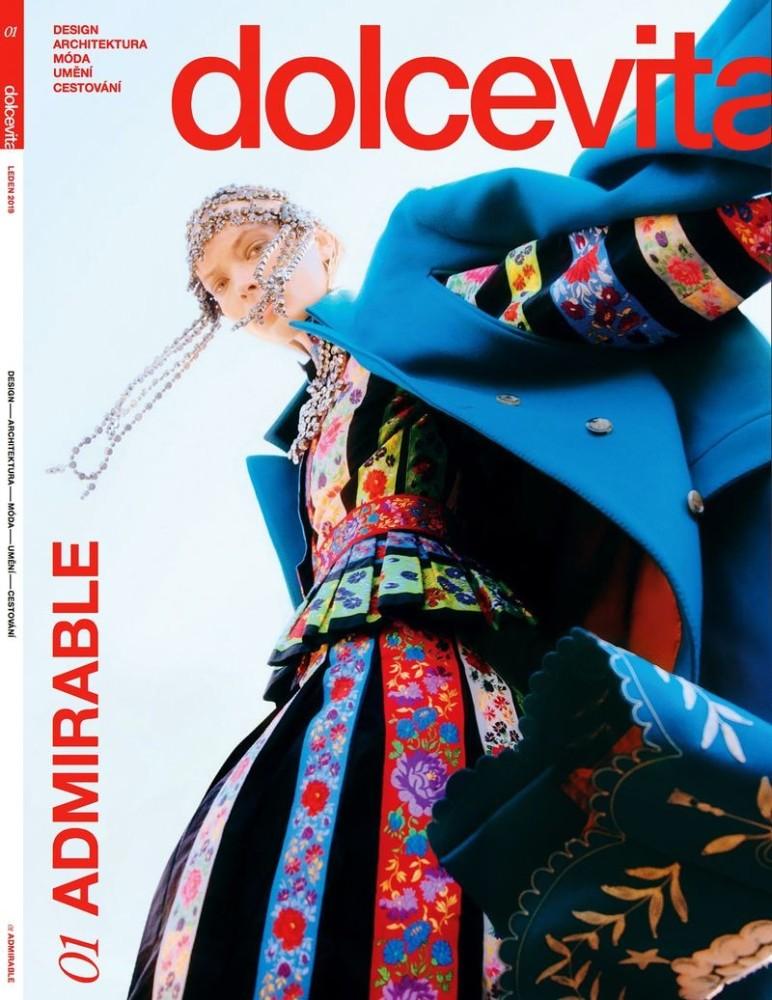 Egle Jezepcikaite for Dolcevita Magazine