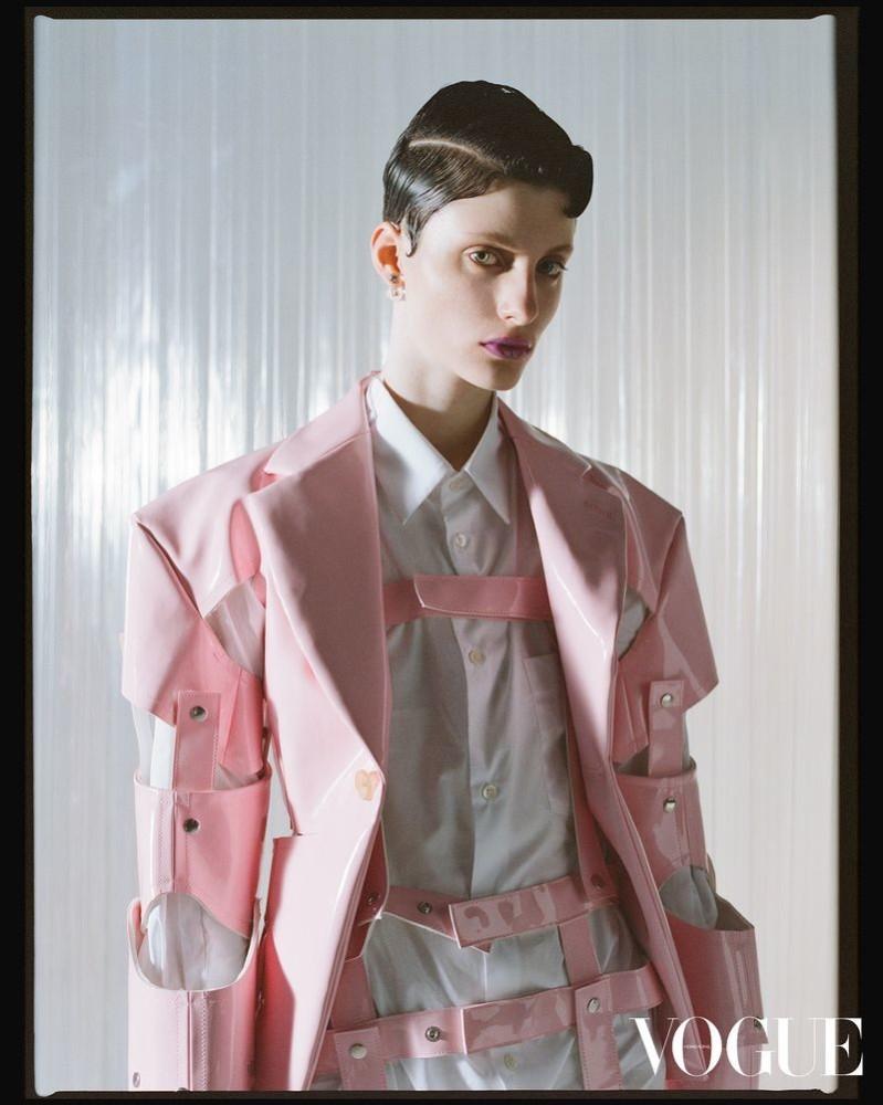 Bo Gebruers for Vogue Hong Kong April 2019