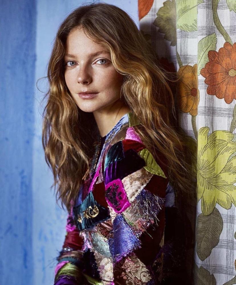 Eniko Mihalik for Harper's Bazaar US