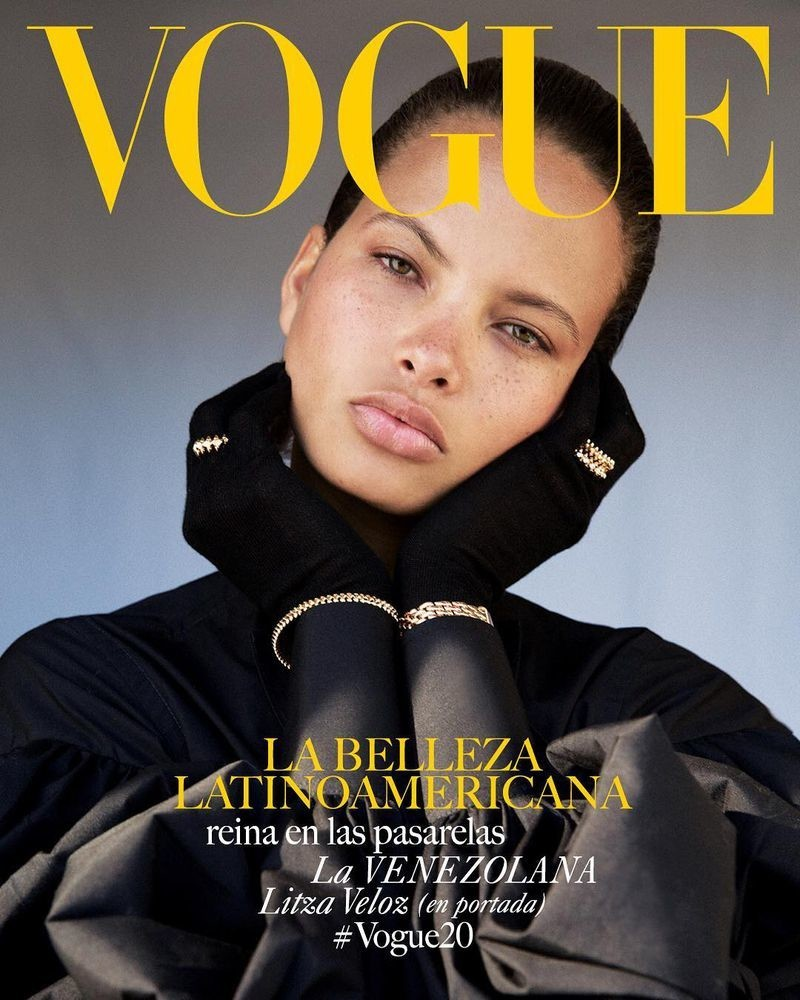 Litza for Vogue Latino America April 2019