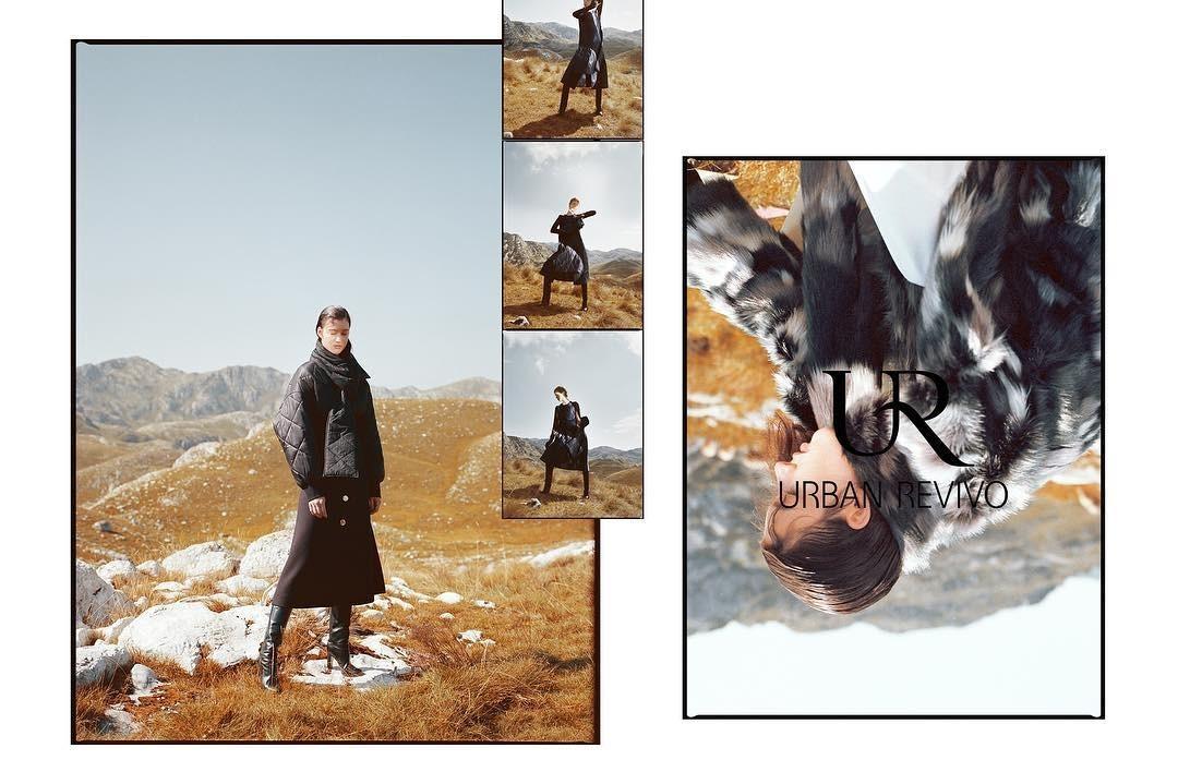 Maren Behringer for URBAN REVIVO Campaign