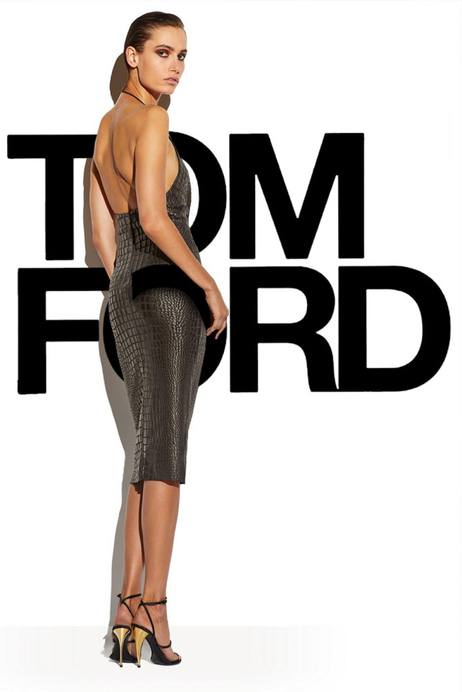 Paulina Kube for TOM FORD SS 19