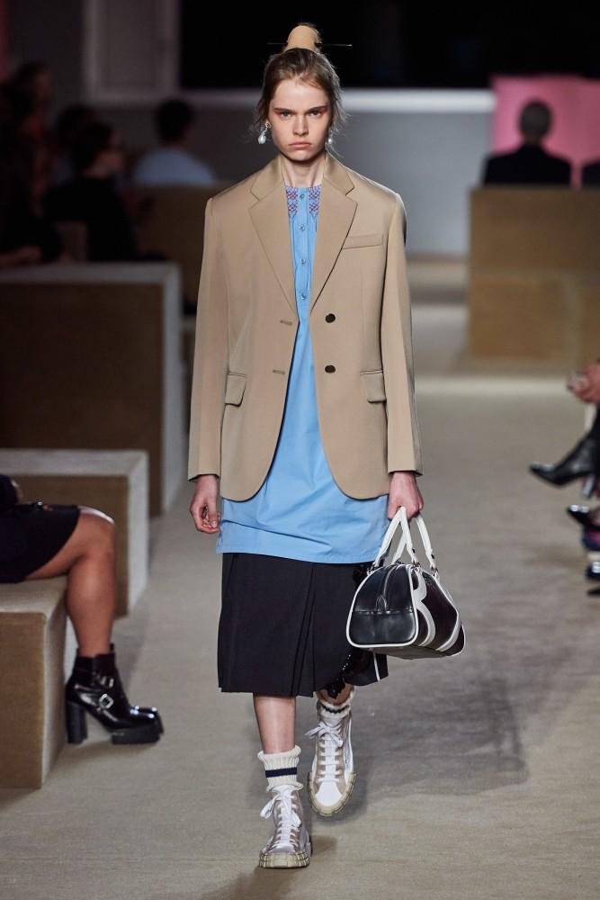 Maud Hoevelaken for Prada Resort 2020 New York
