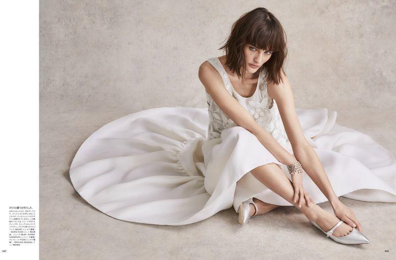 Sibui Nazarenko for Vogue Japan Wedding Summer 2019