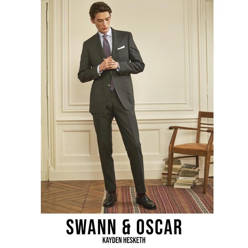 Kayden Hesketh for Swann et Oscar lookbook