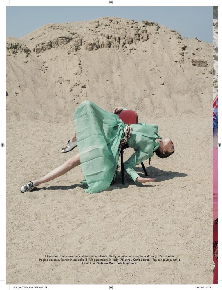Nastya Abramova for Glamour Italia