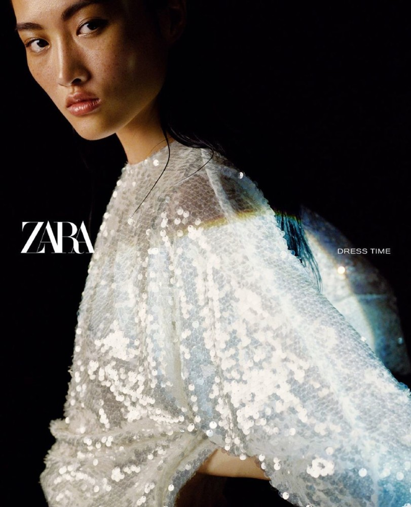 Jing Wen for Zara