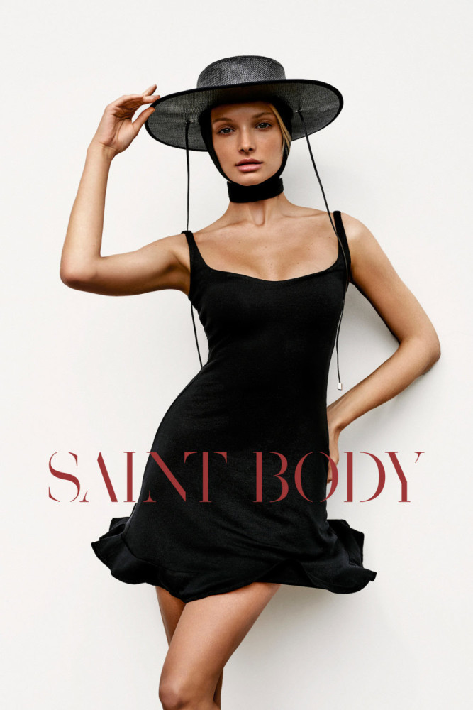 Xenia Belskaya for SAINTBODY Campaign