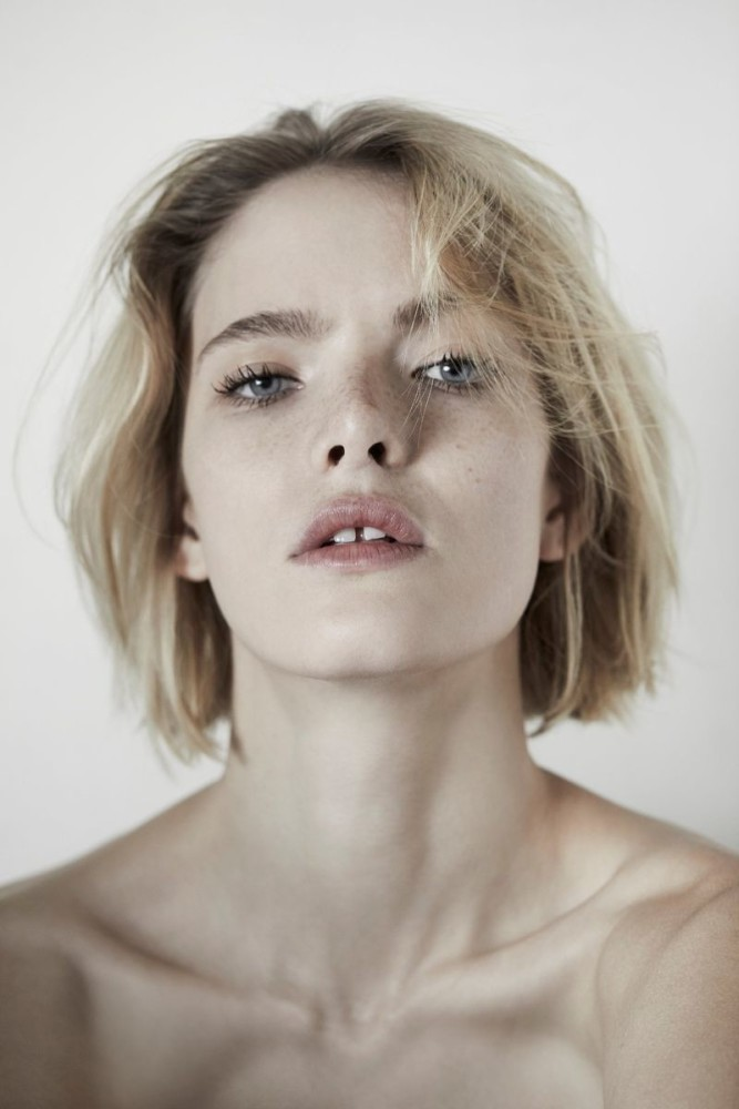 Anastasia Kolganova for Black Magazine
