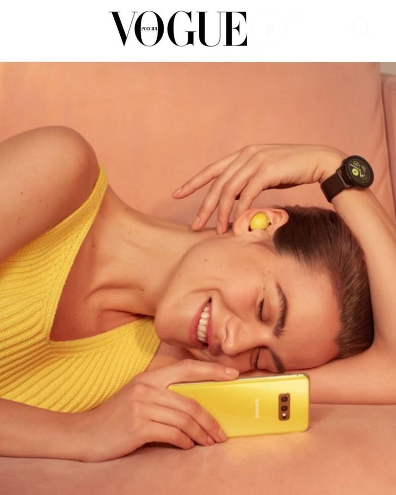 Anna Tataeva for Samsung x Vogue Russia