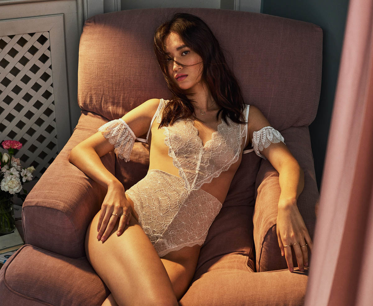 Yihan Zhang for Intimissimi