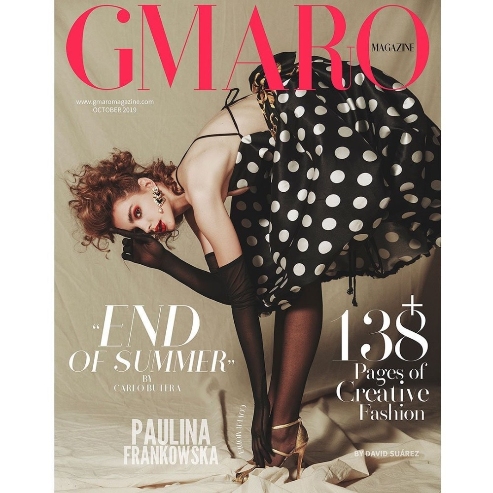 Paulina Frankowska for  Gmaro Magazine