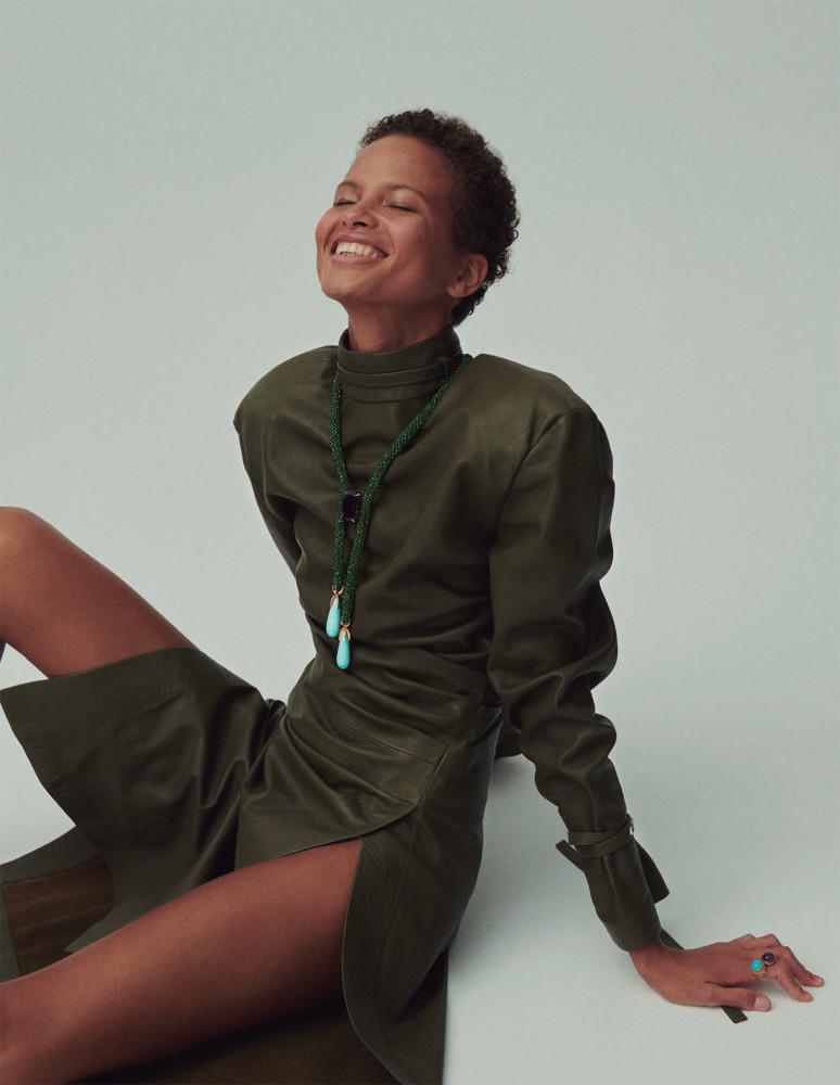 Litza for Vogue Spain, November 2019