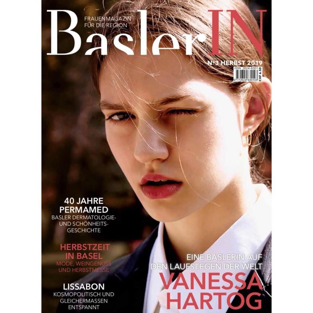 Vanessa Hartog for BASLERIN Magazine