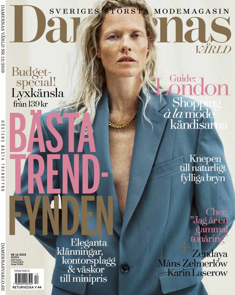 Marianne for Damernas Värld, December 2019