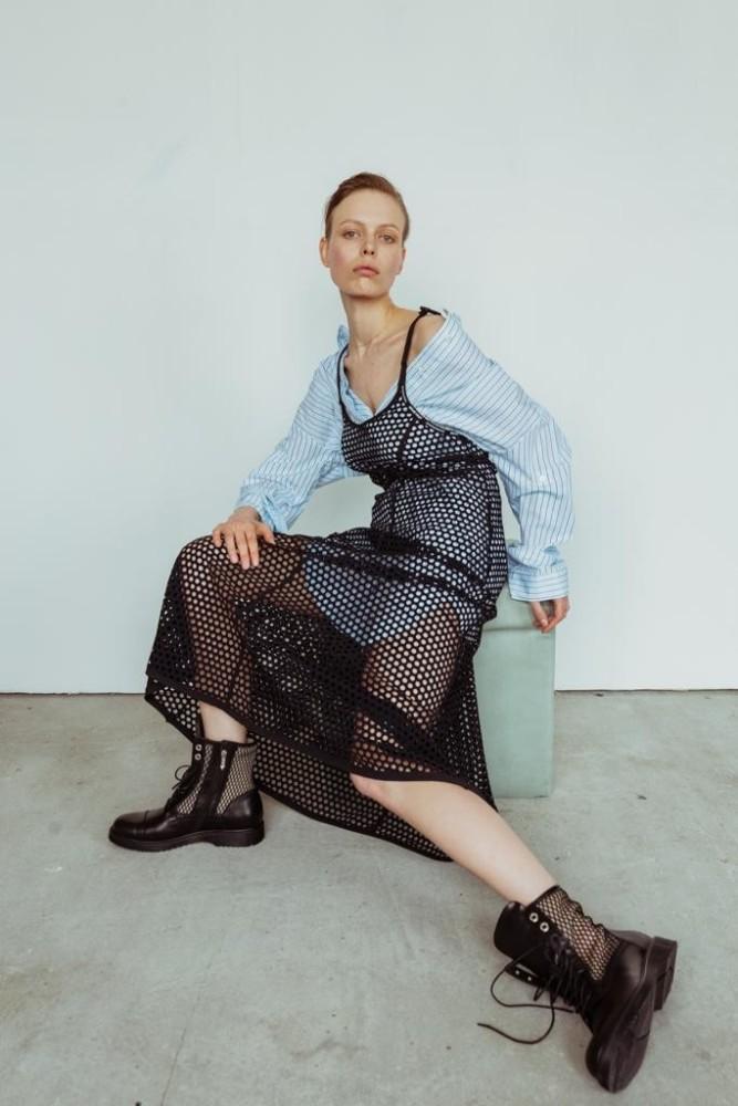 Darja Savchenko for ELLE Ukraine, August 2019