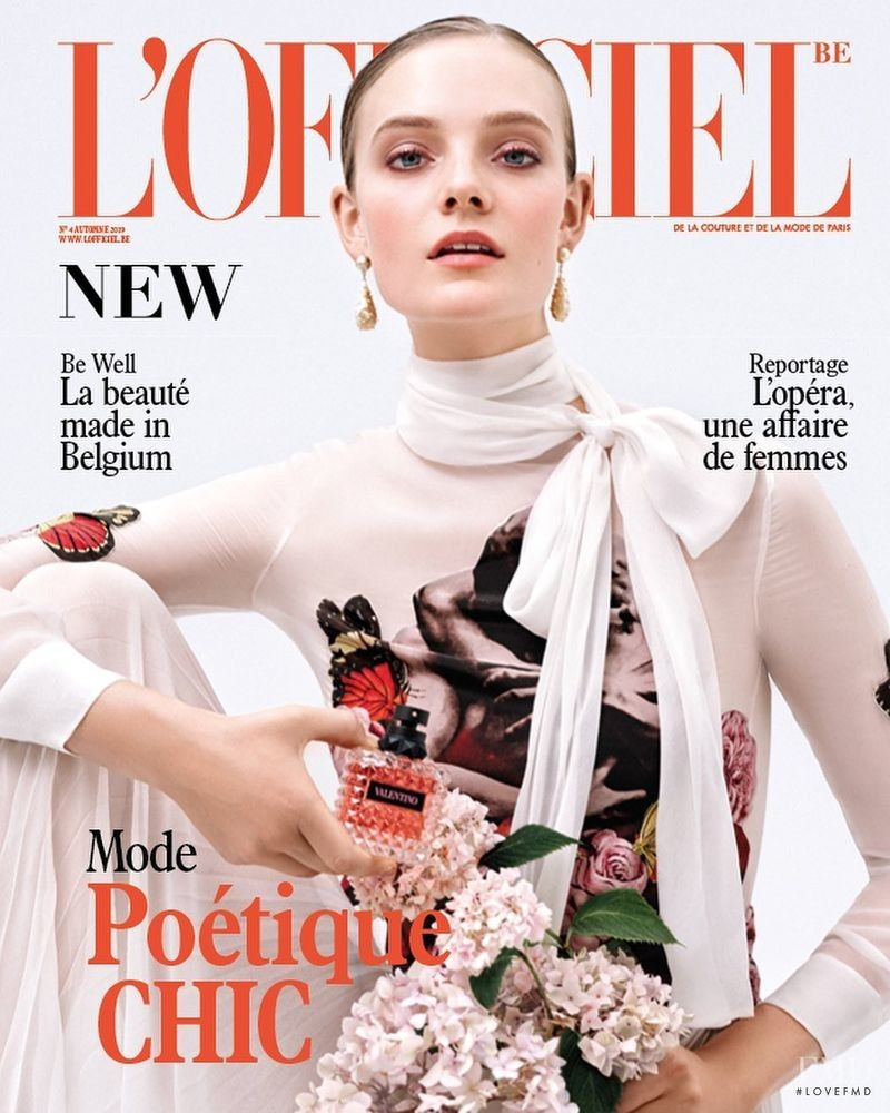Nimue Smit for L'Officiel Belgium, October 2019
