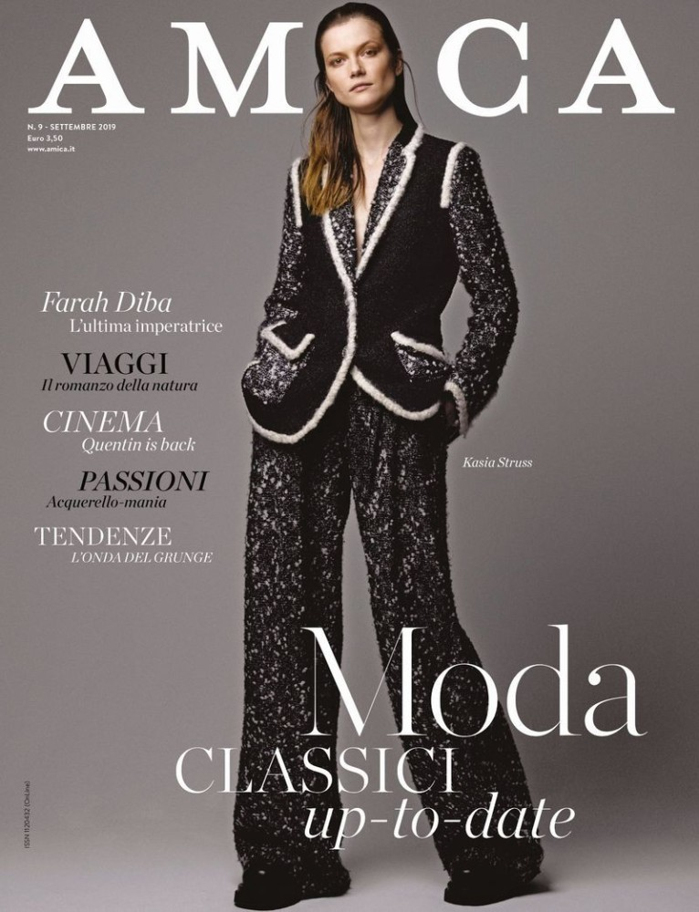 Kasia Struss for Amica September 2019